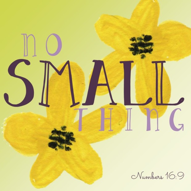 No Small Thing